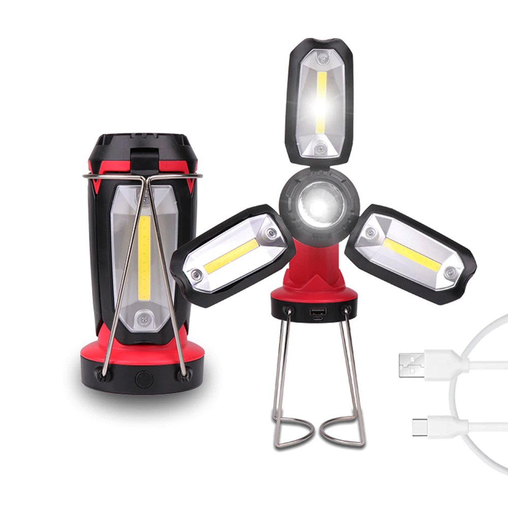 CAMPING LED FLASHLIGHT