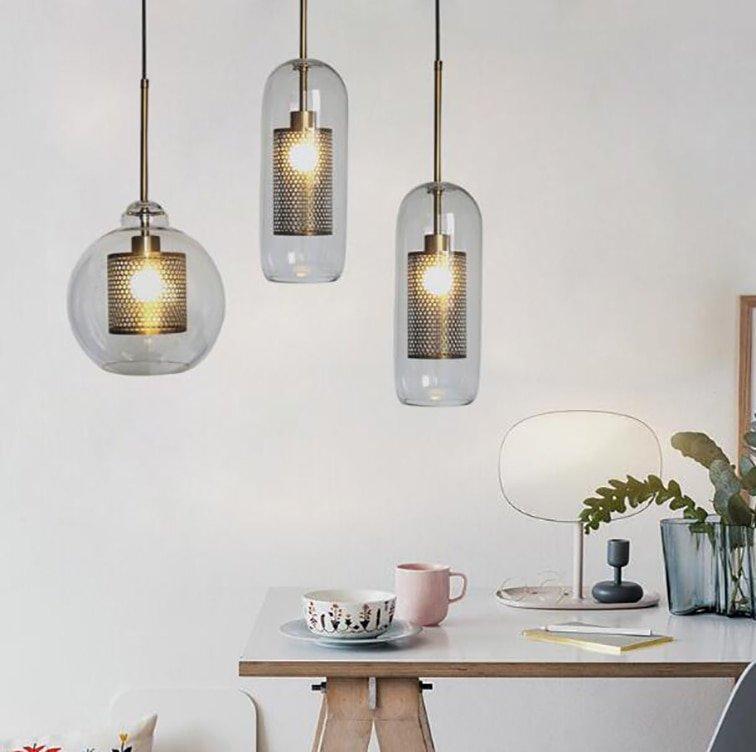 GLASS LIGHTING LAMP