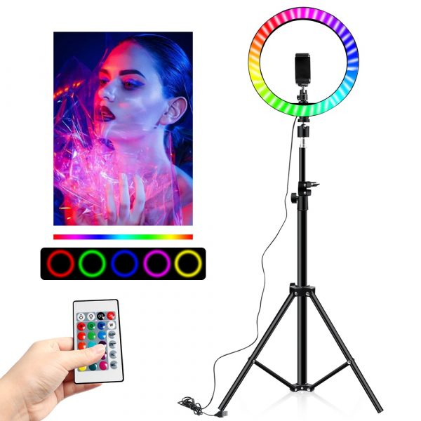 rgb video light