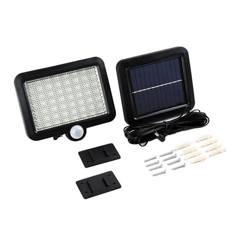 56 LED Outdoor Solar Wall Light PIR Motion Sensor Solar Lamp Waterproof Infrared Sensor Garden Light 2