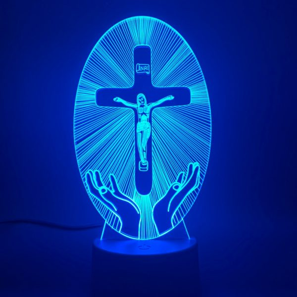 CROSS 3D LAMP