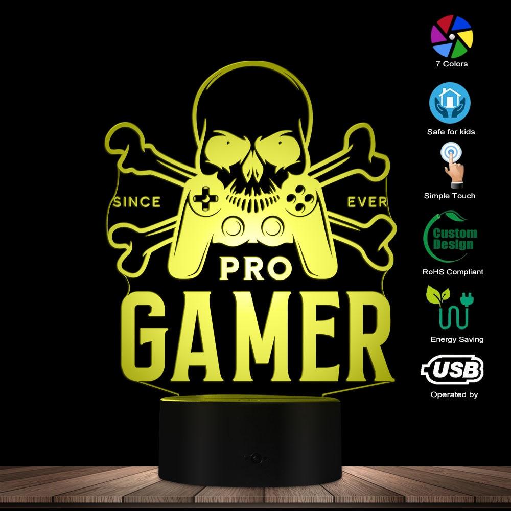 Pro Gamer 3D Lamp