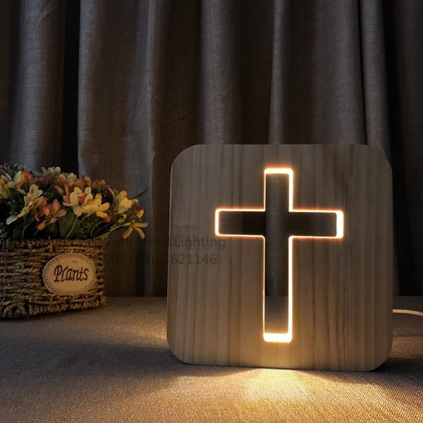 Jesus Cross Lamp